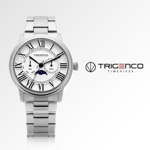 TG-0101M-WH [남성용 시계] [문페이즈] [트리젠코 한국본사정품]