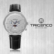 TG-1000L-WH/BK [지빌] [남성용 시계] [문페이즈] [스위스 메이드] [전국백화점A/S가능] [트리젠코 한국본사정품]