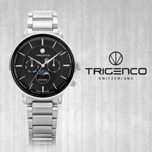 TG-1000-WBK [지빌] [남성용 시계] [문페이즈] [스위스 메이드] [전국백화점A/S가능] [트리젠코 한국본사정품]